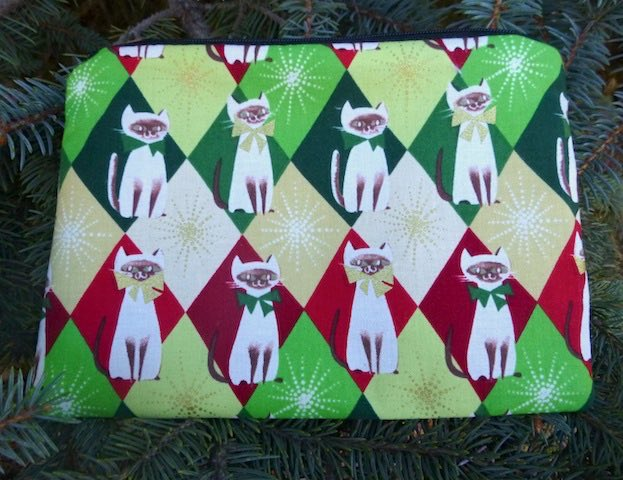Chloe's Christmas zippered bag, The Scooter