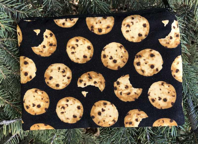 Chocolate Chip Cookies zippered bag, The Scooter