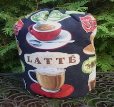 Coffee drawstring bag, The Large Suebee