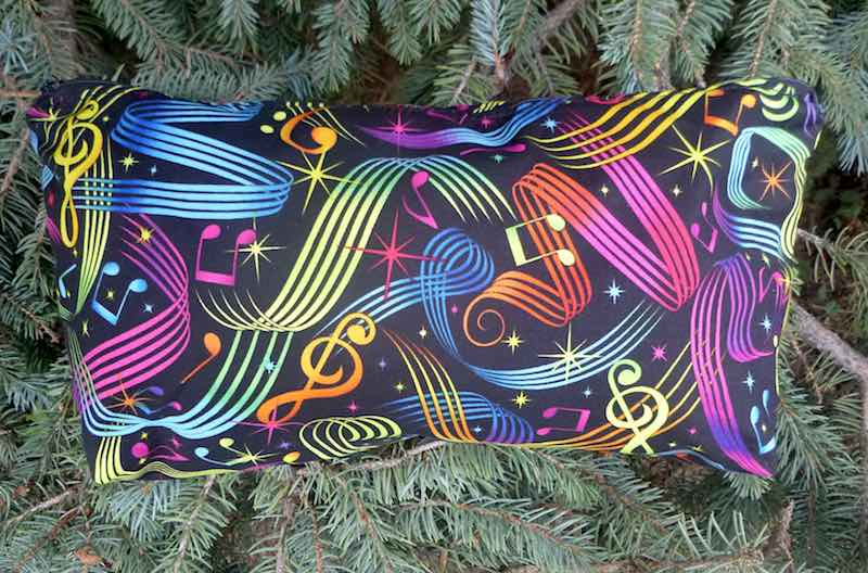 Colorful Music Large Zini Flat Bottom Bag