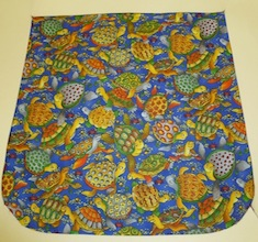 Colorful Turtles Pick your Size Morphin Messenger Bag Flap