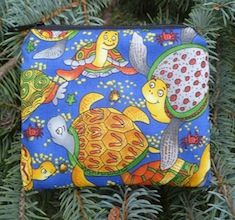 Colorful Turtles Coin Purse, The Raven