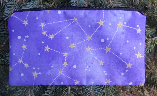 Constellations Deep Scribe pen and pencil case, Pick Your Color