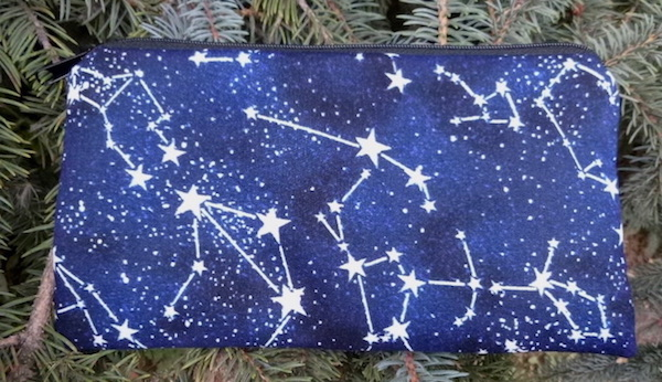 Glow in the Dark Constellations Deep Scribe pen and pencil case
