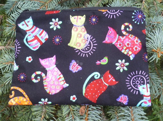 Cool Cats zippered bag, The Scooter