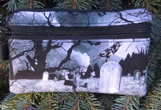 Crow's Graveyard Mini Wallet Purse Organizer, The Sweet Pea