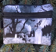 Crow's Graveyard Mini Wallet Purse Organizer, The Sweet Pea