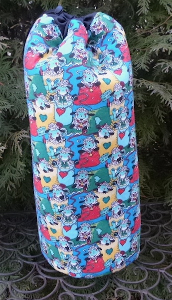 Counting Sheep Spinny Drop Spindle Case
