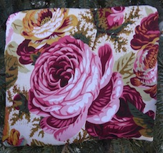 Country Roses Slide Mahjongg card and coin purse