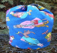 Crazy cat ladies SueBee Round Drawstring Bag