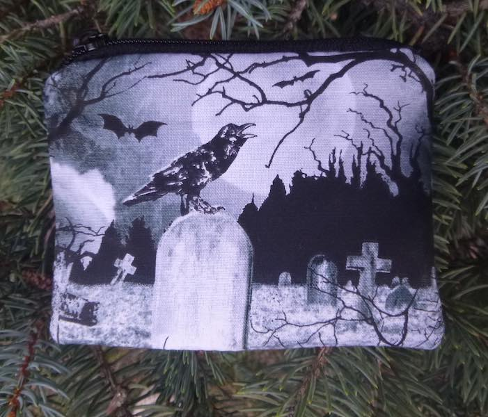 Crow's Graveyard Coin Purse, The Raven