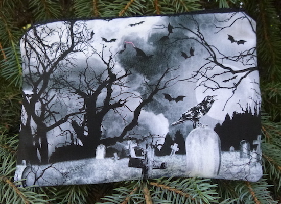 Crows Graveyard zippered bag, The Scooter