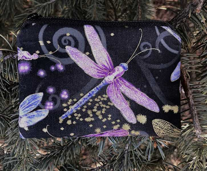 Dancing Dragonfly Coin Purse, The Raven