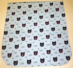 Dapper cats Pick your Size Morphin Messenger Bag Flap