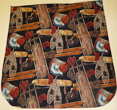 Day at the Lodge Pick your Size Morphin Messenger Bag Flap