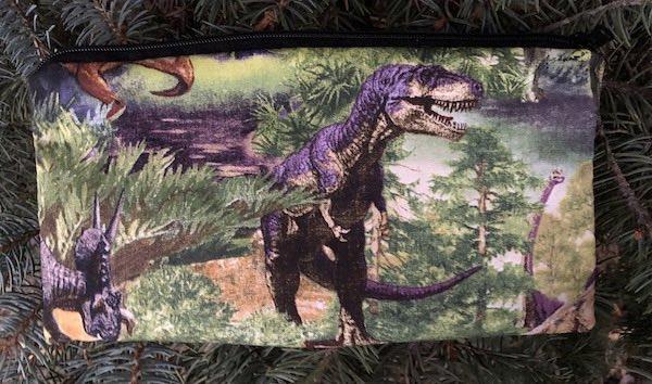 Dinosaurs Deep Scribe pen and pencil case