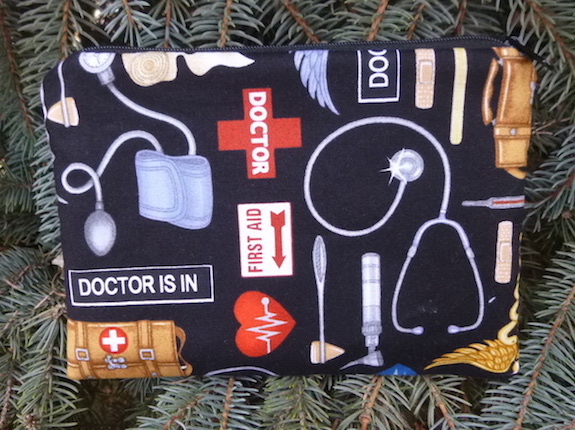 Doctor's Visit zippered bag, The Scooter