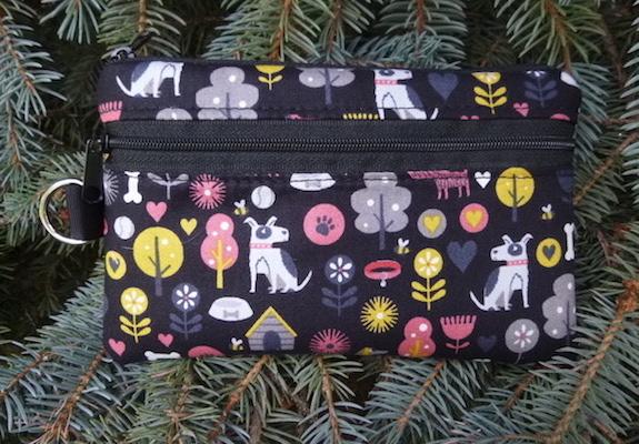 Dog's World Mini Wallet Purse Organizer, The Sweet Pea