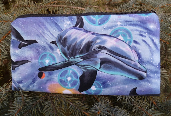 Dolphin Deep Scribe pen and pencil case
