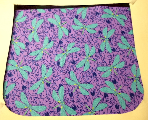 Dragonflies in the Garden Pick your Size Morphin Messenger Bag Flap