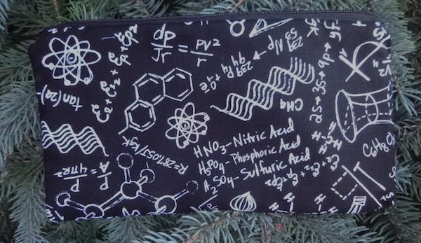 Equations Deep Scribe pen and pencil case