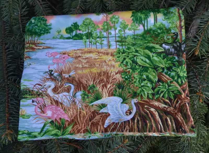 Florida Everglades Supa Scribe extra large pencil case