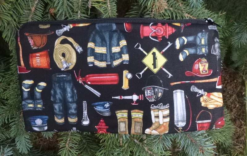 Firefighters Deep Scribe pen and pencil case