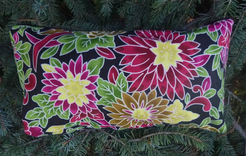 Flower Burst Large Zini Flat Bottom Bag