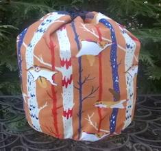 Flying Squirrel SueBee Round Drawstring Bag