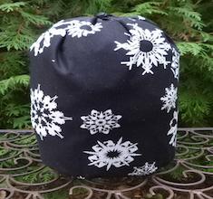 Folksy Flakes SueBee Round Drawstring Bag