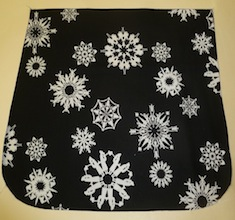Folksy flakes Pick your Size Morphin Messenger Bag Flap