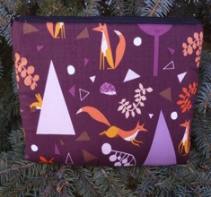 Foxy forest padded case for small tablets and e-readers The Elm