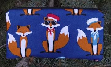 Foxy Sailors Deep Scribe pen and pencil case