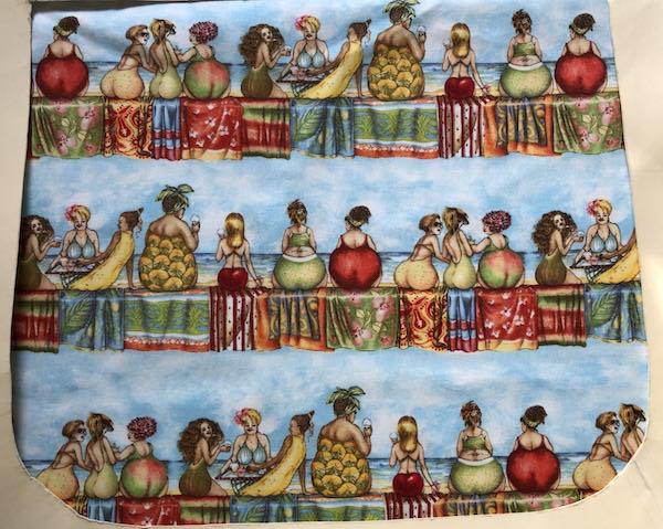 Fruit Ladies Pick your Size Morphin Messenger Bag Flap