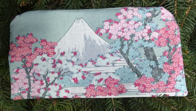 Mt Fuji and Cherry Blossoms Deep Scribe pen and pencil case