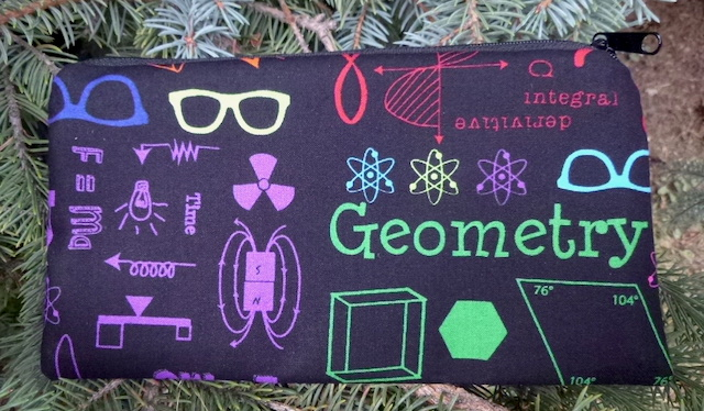 Geometry Deep Scribe pen and pencil case