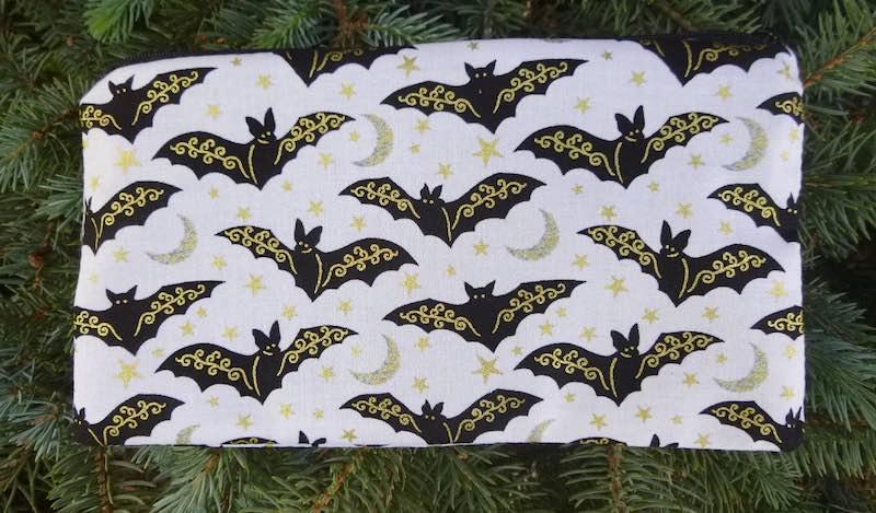 Gilded Bats Deep Scribe pen and pencil case