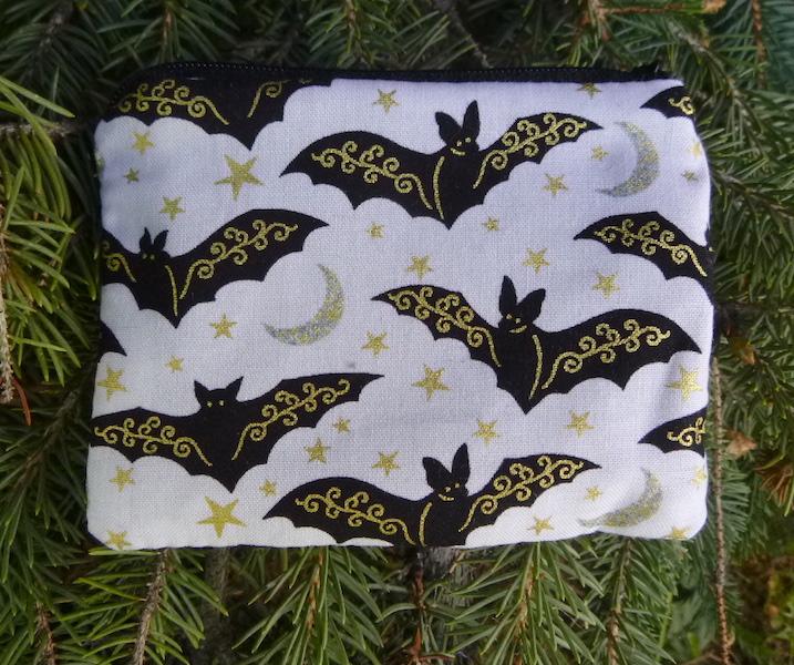 Gilded Bats Coin Purse, The Raven