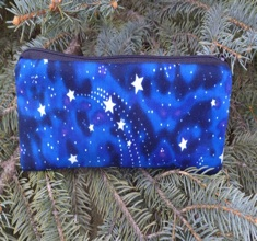 Glow in the dark stars pen and pencil case, The Scribe