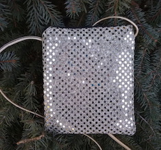 Gold Confetti Dots Wren, special occasion purse