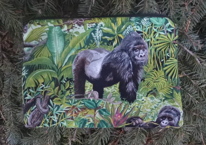 Gorilla zippered bag, The Scooter