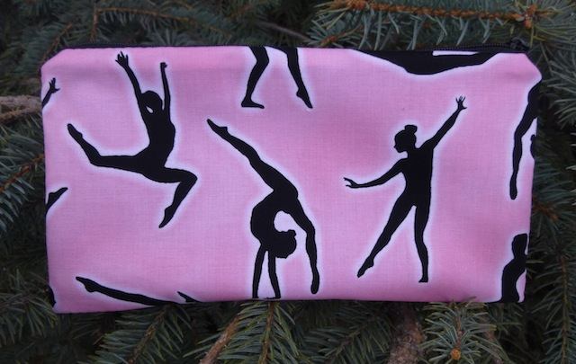 Gymnasts Deep Scribe pen and pencil case, Pick Pink or White