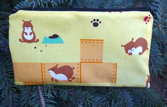 Hamster World Deep Scribe pen and pencil case