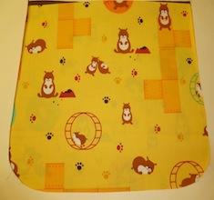 Hamster World Pick your Size Morphin Messenger Bag Flap