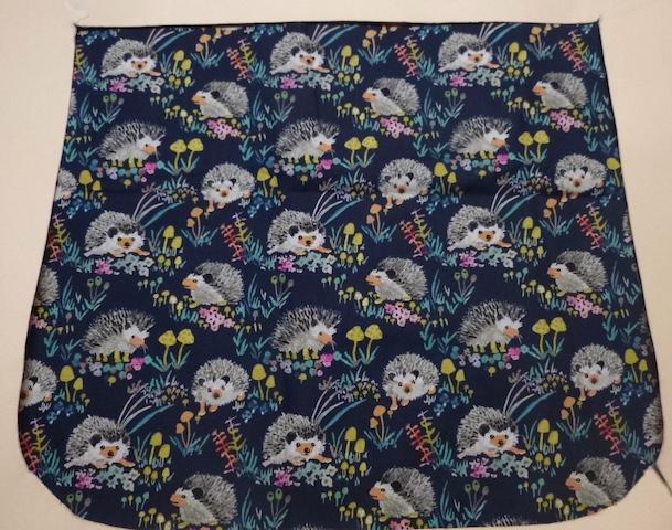 Happy Hedgehogs Pick your Size Morphin Messenger Bag Flap
