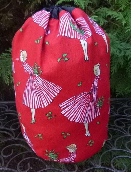Happy Hostess SueBee Round Drawstring Bag