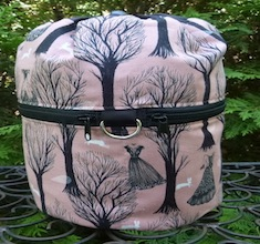 Haunted Forest Kipster Knitting Project Bag