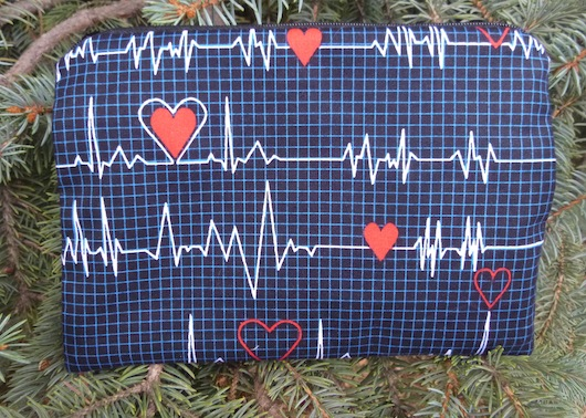 Heart Monitors zippered bag, The Scooter