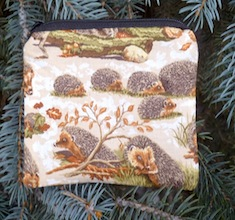 Hedgehogs Coin Purse, The Raven