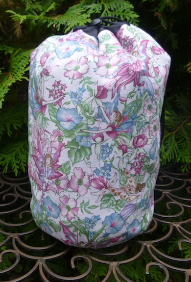 Hidden Fairies SueBee Round Drawstring Bag
